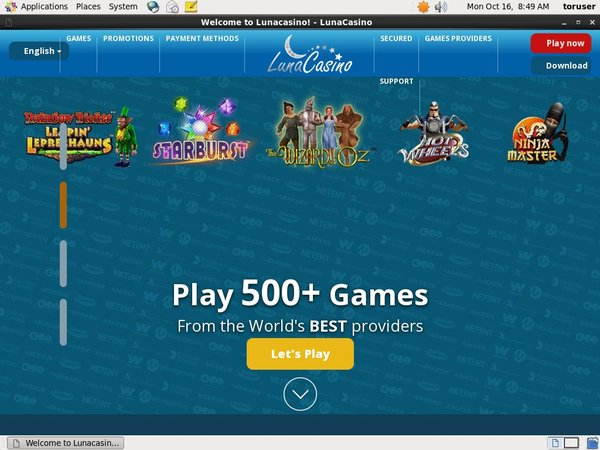 Luna Casino Games