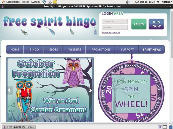 Freespiritbingo Betting App