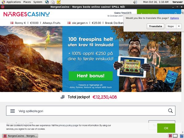 Paypal Deposit Norges Casino