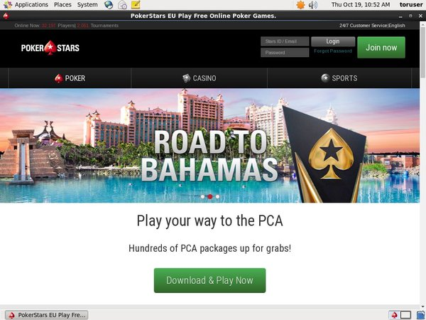 Pokerstars Start Account
