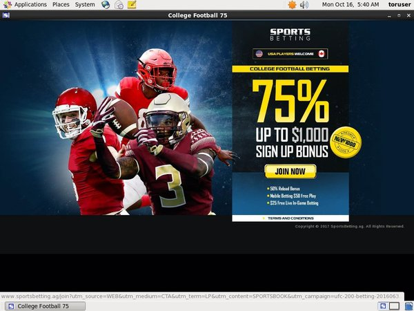 Sports Betting Deposit Offer