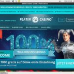 Platincasino New Customer Bonus