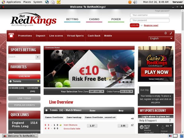 Bet Red Kings Bonus Code No Deposit