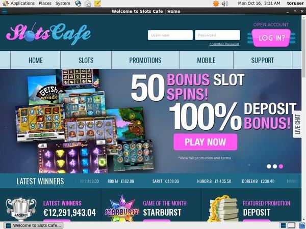 Slots Cafe Primeslots