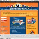 Bonus Bingo Dome Code