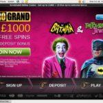 Euro Grand Casino カジノ ボーナス