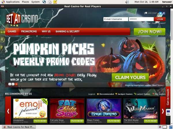 Bet At Casino Online Casino Slots