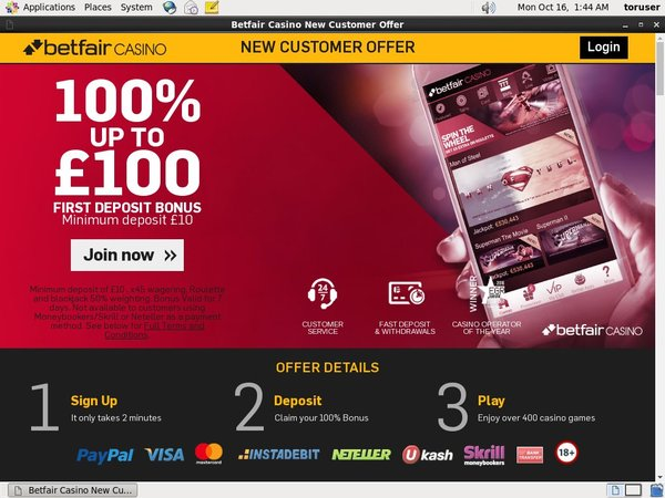 Betfair Create New Account
