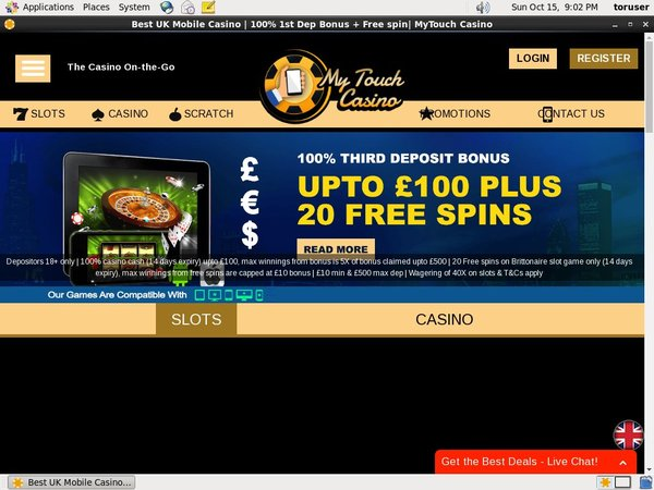 Free Bet My Touch Casino