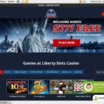 Liberty Slots New Customers Bonus
