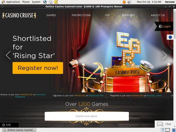 Casino Cruise Svenska