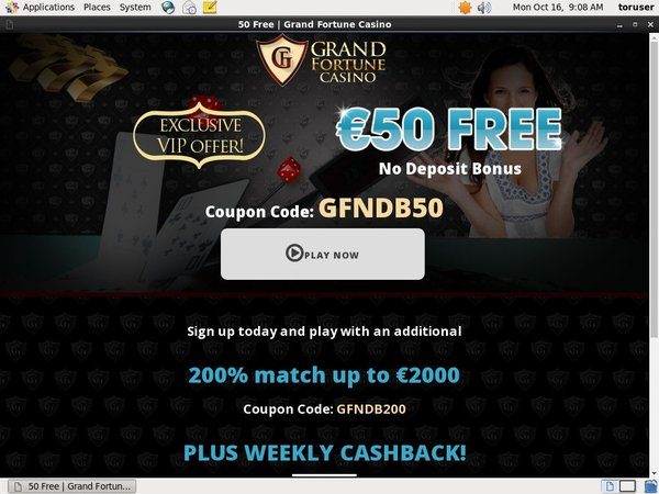 Grand Fortune Online Casino Sites