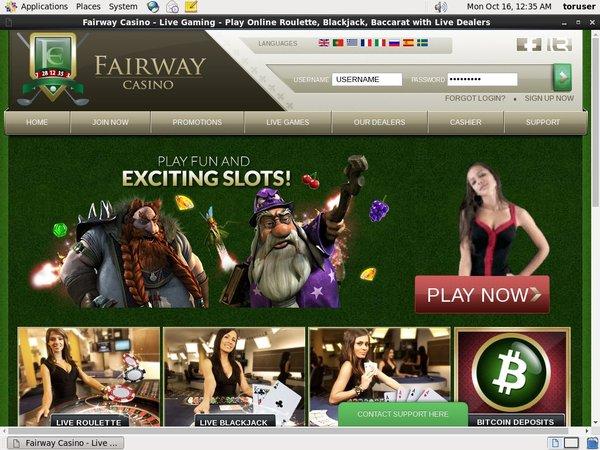 How To Get Fairway Casino Bonus?