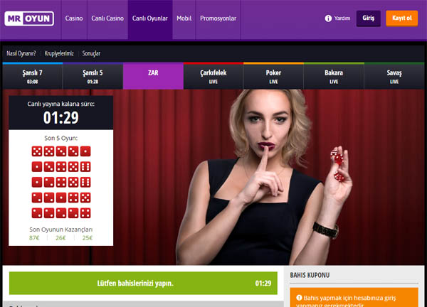Mr Oyun Online Casino Uk