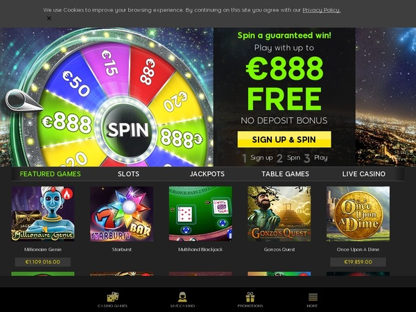 888 Casino Without Credit Card