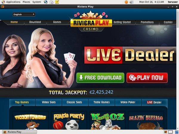 Deposit Paypal Rivieraplay