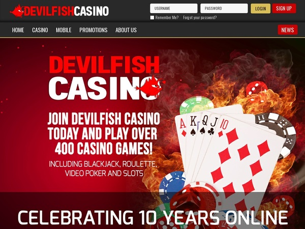 Devil Fish Casumo Casino