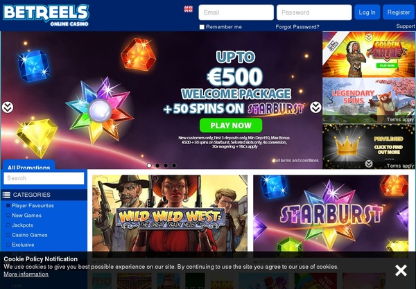 Casibetreels Casino Bonus Codes