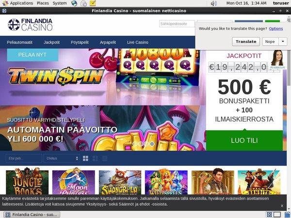 Finlandia Casino Neteller