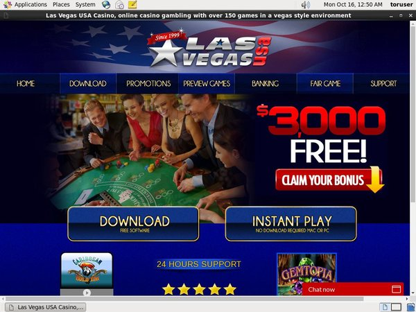 Las Vegas USA Casino 無料