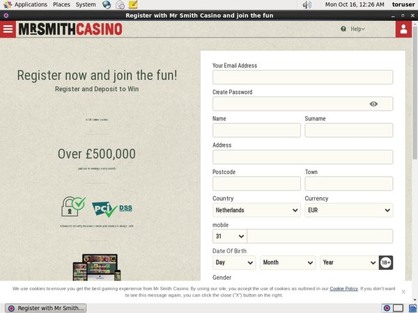 Mrsmithcasino Matched Betting