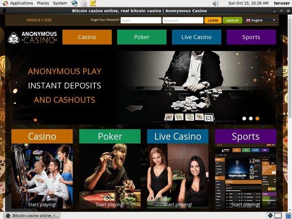 Anonymous Casino Gratis