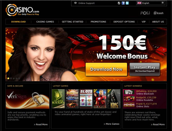 Casino.com Today Games