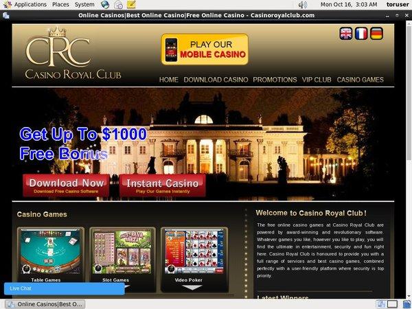 Royal Casino Club Boas Vindas